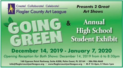 Flagler County Art League presents Going Green! @ Flagler County Art League